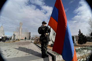 armenian armenia army soldier military flag