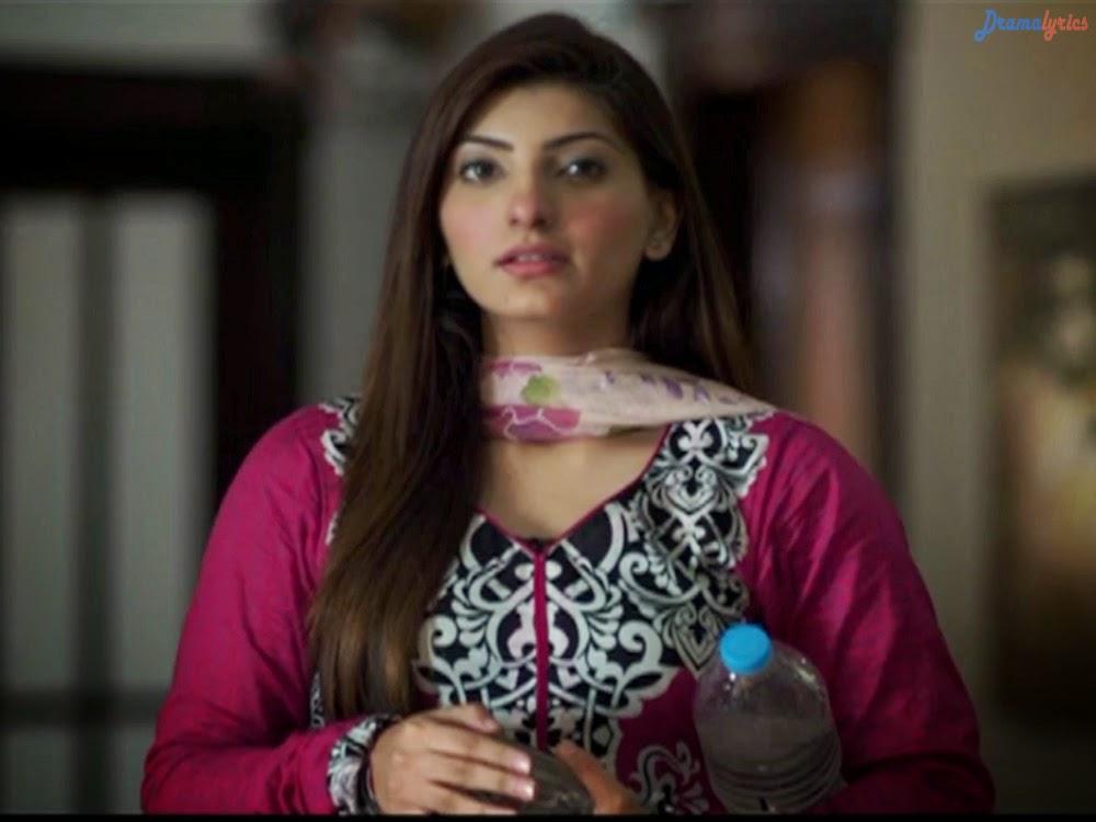 Mariam Ansari Drama Wallpapers In Sad Red Dress