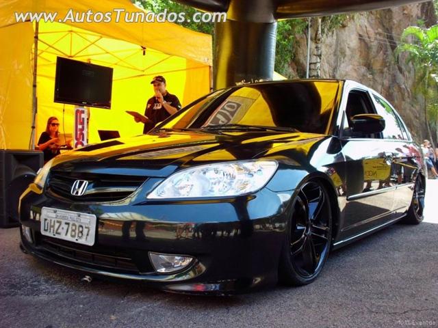 Honda Civic 2005 rebaixado uma suspens o a ar Carros Online