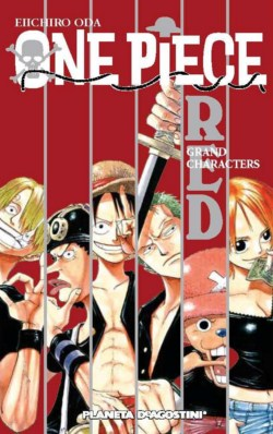 One Piece Guía nº01 Red: Grand Characters - Portada