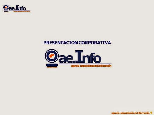 aeInfo - Presentación Corporativa