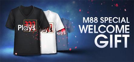 Dapatkan T-shirt Terbaru M88