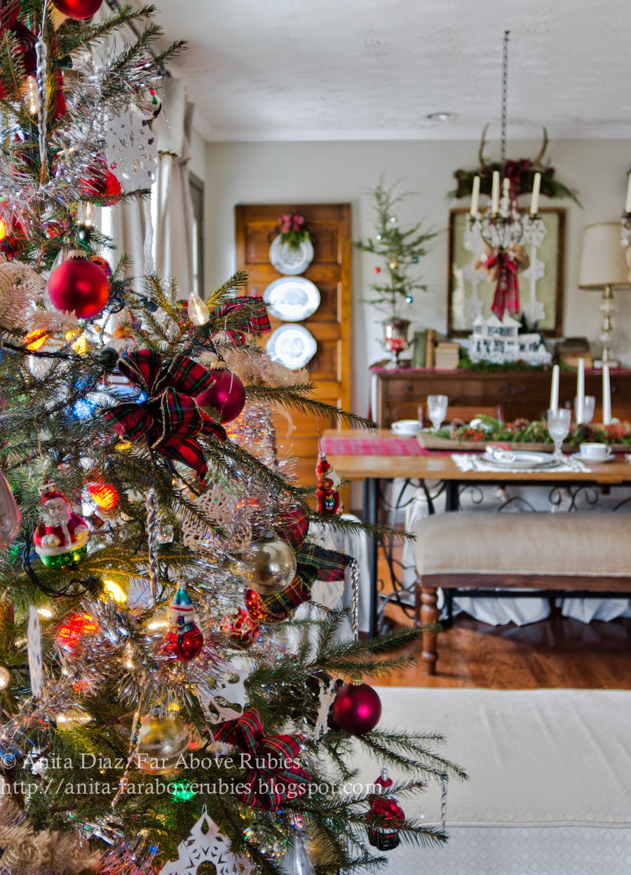 Vintage Americana Christmas- Far Above Rubies-How I Found My Style Sundays- Christmas Edition- From My Front Porch To Yours