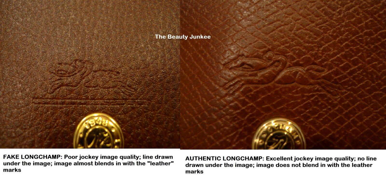 replica prada tote bags - INSPECTING A FAKE LONGCHAMP LE PLIAGE | The Beauty Junkee