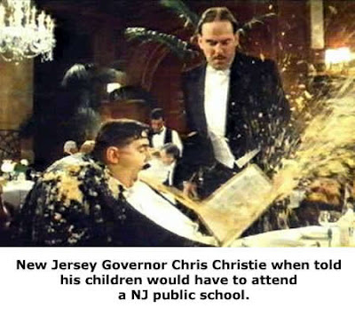 fat stupid and from Jersey is no way to go through life son, Chris Christie too fat to be president