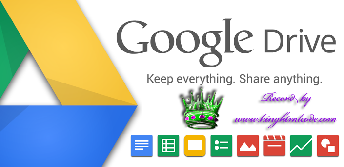 how to add video for html to google drive