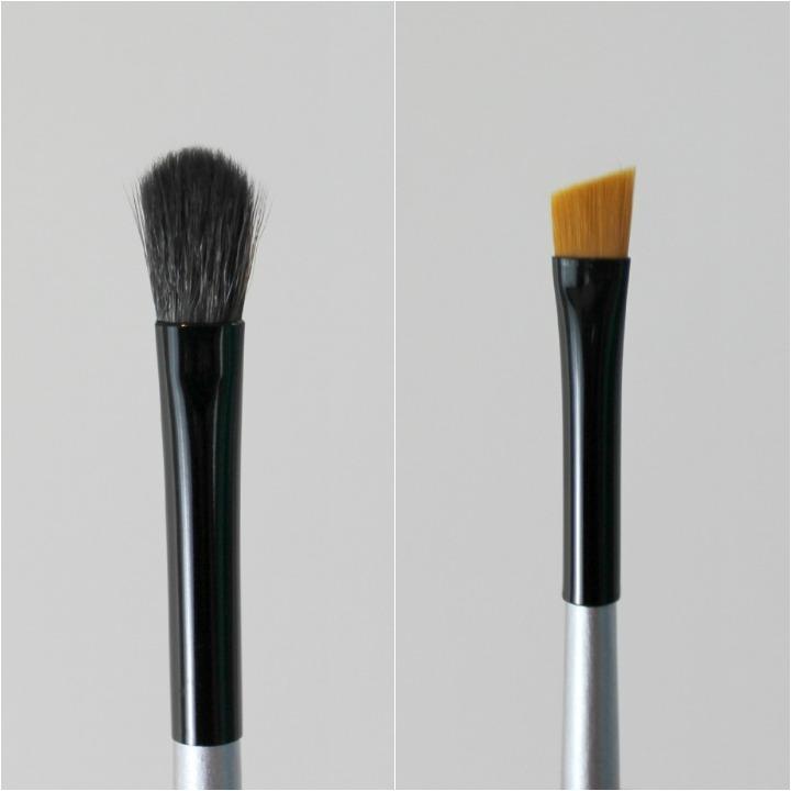 Paula Dorf Aztec City Eyeshadow Pallete brush brushes