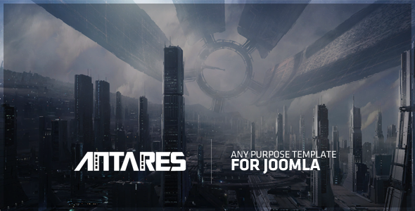 Download Free Antares – Any Purpose Template For Joomla!