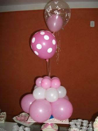 decoração balão mesa doce