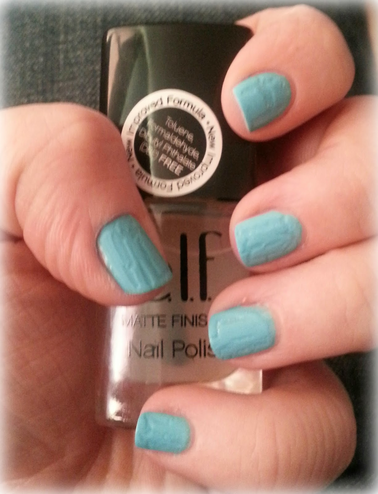 Laura\'s Lovely Loves ♥: ELF Matte Nail Polish Top Coat: First ...