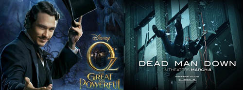 Oz the Great and Powerful and Dead Man Down