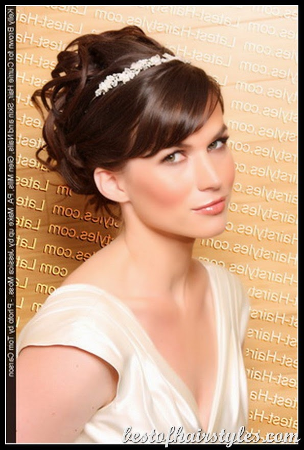 wedding hairstyles for bridesmaids short hair}