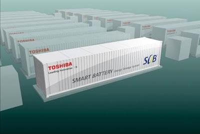 Sistema d'acumulació BESS de Toshiba