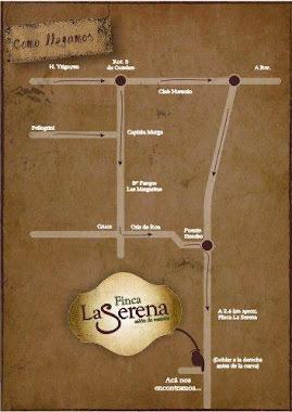 Mapa Finca La Serena