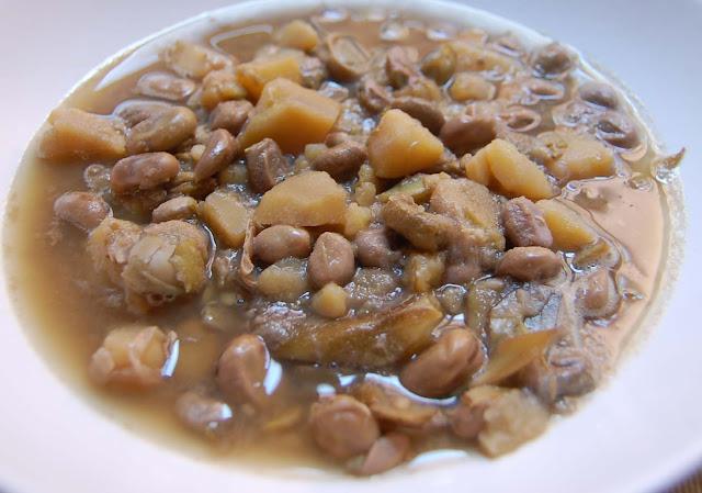 la scafata (di tonino) - dicke bohnensuppe (von tonino)