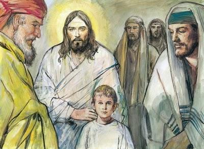 Kto przyjmuje jedno z tych dzieci w imię moje, Mnie przyjmuje; a kto Mnie przyjmuje, nie przyjmuje Mnie, lecz Tego, który Mnie posłał