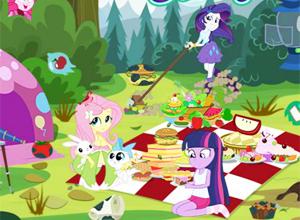 Equestria Girls Picnic Story