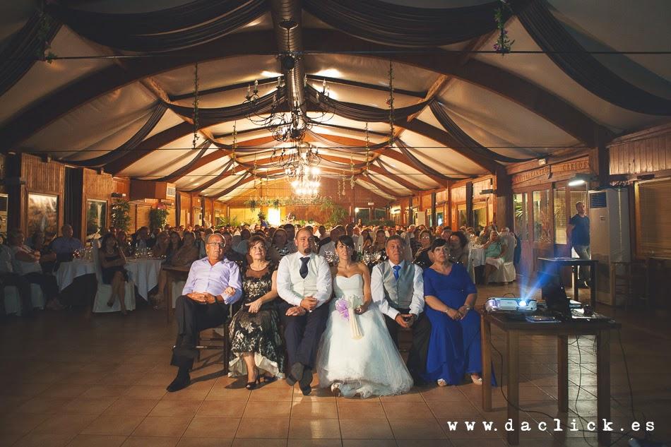 vista frontal del salón de boda del restaurante carlos de elche