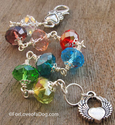 Rainbow Bridge Pet Memorial Bracelet at For Love of a Dog Jewelry
