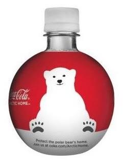 Coke orb bottles