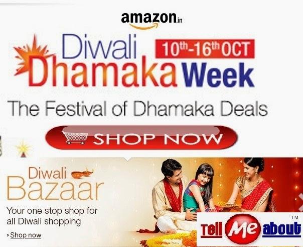 Amazon Diwali Dhamaka Week Sale