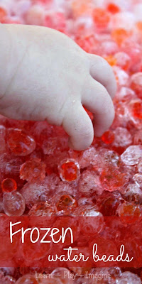 Stay cool and turn this favorite sensory activity into a CHILLY recipe for play