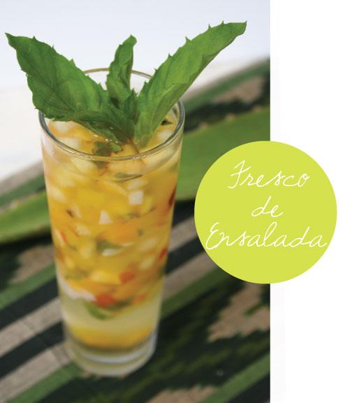How To Make Ensalada Drink From El Salvador