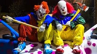 killer clown massacre