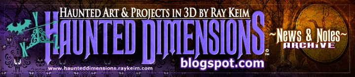 Haunted Dimensions by Ray Keim