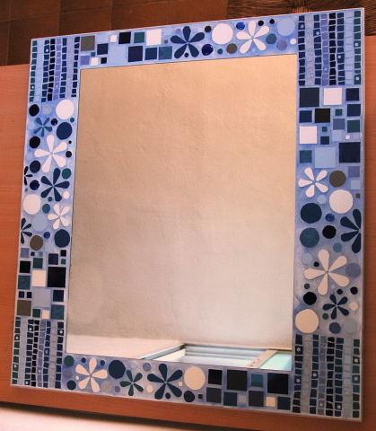 Mosaicos espejos for Mosaicos para espejos
