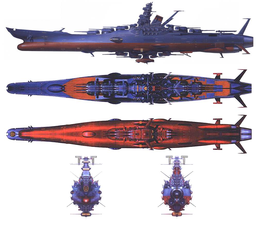 MUSINGS OF A SCI-FI FANATIC: Space Battleship Yamato Vs ...