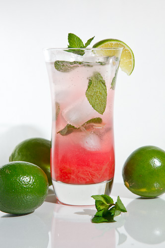 Rhubarb Mojito