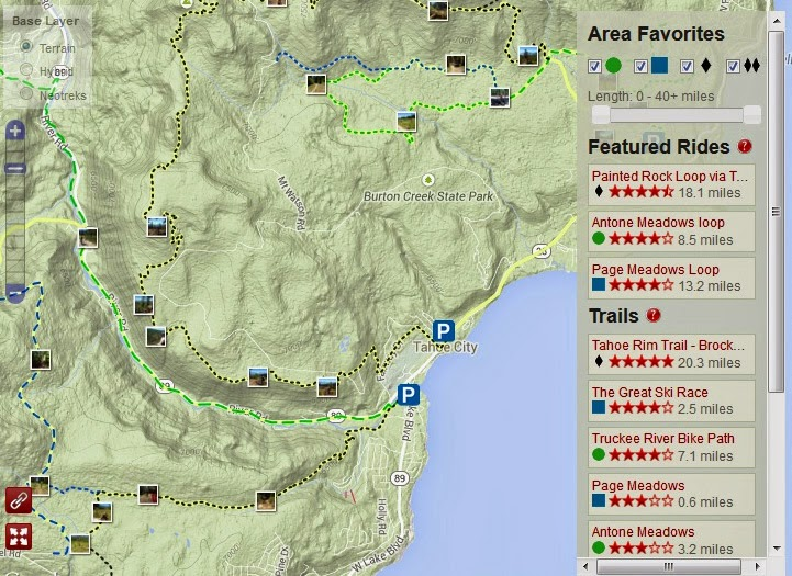 USGS will add Mountain Bike Trails to Topo Maps
