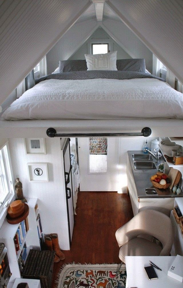 small bedroom decor ideas the bed under the roof - Room Decor For Small Bedrooms