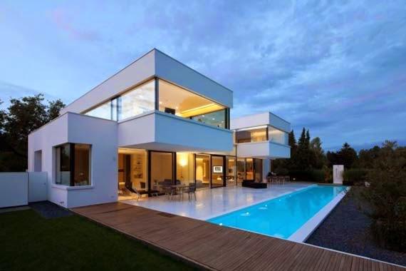 Casa de Diseño de Interiores: Belleza Casa Blanca de Diseño ...