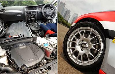 Modification Audi A4 2013