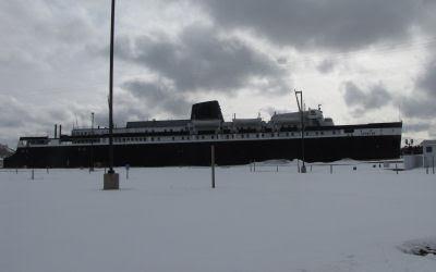 S.S. Spartan car ferry