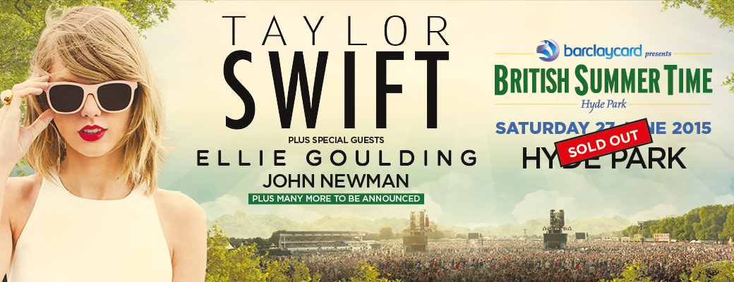 bst hyde park taylor swift