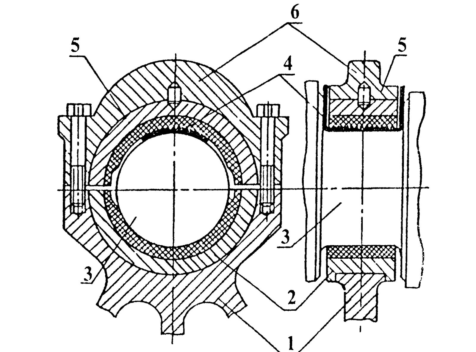 схема ремонта коленчатого вала