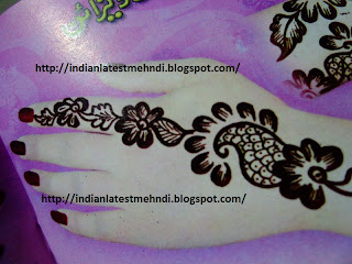 Best 5 Simple Easy Mehndi Designs 2013 1