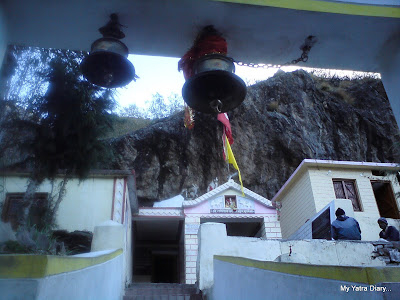 Ganesh Gufa in Mana village near Badrinath in the Chaar Dhaam Yatra