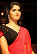 Tamil Actress Deeksha Seth in Red Saree Photos