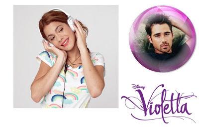 Fotomontaje Online violetta