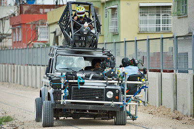 Автомобиль для трюков из фильма Skyfall