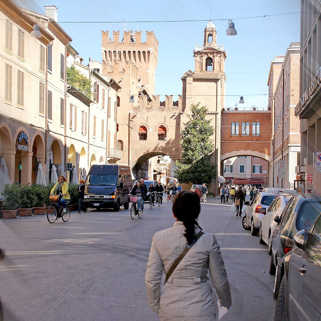 la-ciudad-de-Ferrara-Italia