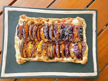 La tarte aux prunes du Bourdon