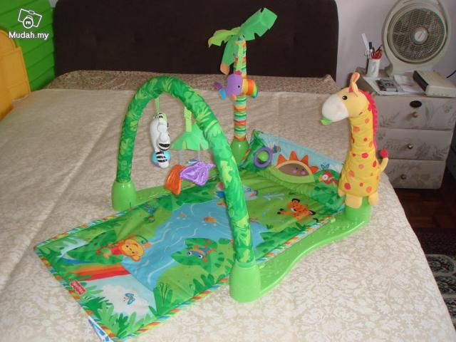 Preloved Baby Shop Fisher Price Rain Forest Playgym Preloved