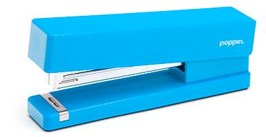 blue stapler
