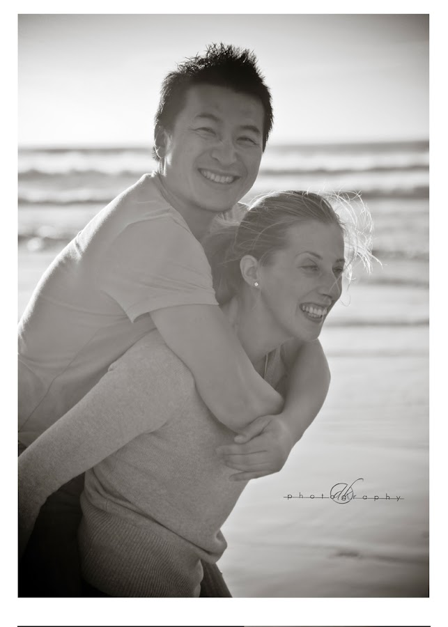 DK Photography 24 Kate & Cong's Engagement Shoot on Llandudno Beach  Cape Town Wedding photographer