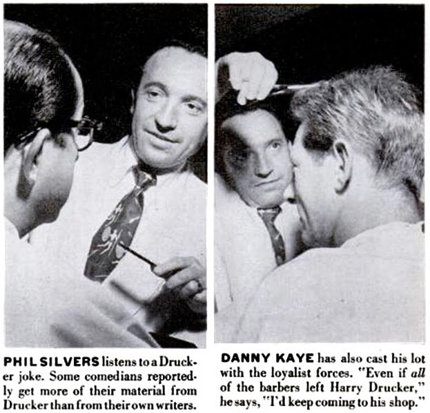 The Hair Hall of Fame: Harry Drucker: Barber to the Stars